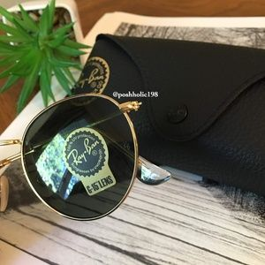 Ray-Ban Accessories - 🌼NEW Ray-ban Round Metal classic g15
